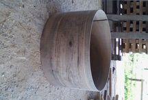 ceviz davul kasnları drum shell / ceviz davul kasnakları görüntüleri