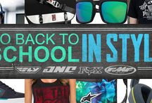 Back To School / Go back to school in style!! / by MotoSport .com