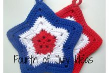 Crochet - Fourth of July