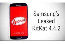 Tampilan Android Kitkat pada Samsung Galaxy S4