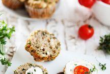 Salad muffin
