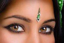 Bindi & Jewel Bar / Think Bollywood fun!  Bindi is one of the most visually fascinating of all forms of body decoration.