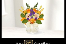 My flower creations
