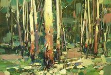 Birches Trees