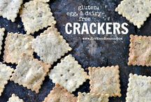 Crackers snacks recipes