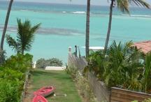 Villa Bonheur Guadeloupe 4 chambres bord lagon / Location de villas de luxe, les pieds dans l'eau en Guadeloupe