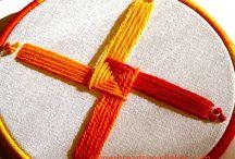 Brigid Day / Craft designed to celebrate St. Brigid Day - Feb. 2nd.