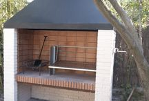 built in braai ideas