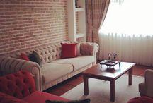 Oturma odası örnek daire