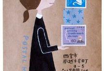 かわいい郵便物