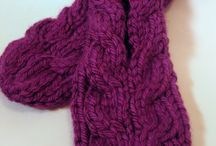 pantoufles a tricoter