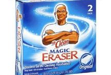 Mr Cleaner eraser uses