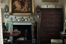 English country style interior