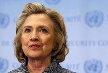 Hillary Clinton is on base!