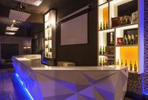night club decor