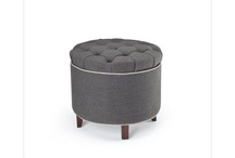 Storage Ottomans / With little kids, storage ottomans are great! We have several and they are used for toy storage as well as for climbing on, sitting in and eating on. / by Heidi Sentivan