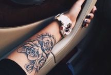 Arm tatoos