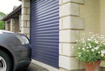 Garage Doors / Images and links to Garage Roller Doors, powder coated Garage doors in various colours.