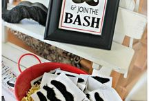 Little Man Party / Thinking of throwing a Little Man party or hosting a Movember celebration? Here are some decor, food and games ideas to get the party started!