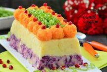 mor lahana havuc patates salatasi