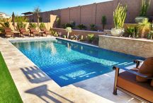Jacuzzi, Pool, and Grill Backyard / Imagine Backyard Living brings together the top brands in spas and hot tubs, patio furniture, landscaping, accessories and maintenance under one roof to create unique and exceptional environments.