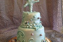 Petite Tiered Cakes / This board is for special cakes made for small, more intimate occasions
