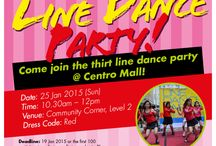 Line Dance Party / Join us in Line Dance Parties that will rock your socks off :)