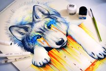 Animals GCSE Art