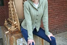 Cabled Sweaters / Cables: can't live without 'em / by Bonne Marie Burns