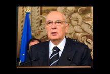personaggio pubblico / Video dedicato al Presidente della Repubblica Giorgio Napolitano rendendogli omaggio.