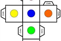 σχήματα χρώματα