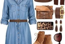 Leather bags with great outifts! / Find a great outift combination with our leather bags. Vintage-style will never get old!