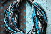 bisuteria textil / by chelo hernandez navarro