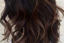 brunette hair for tan skin