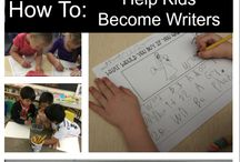 Writing / Teaching kindergartners to become independent writers.