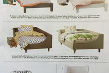 Kid's bed/mattress/bedding