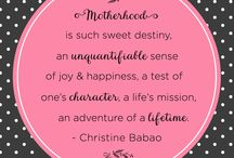 Mommy Wisdom / Mommy Wisdom from inspiring moms (as published in our annual #Mom247Planner)