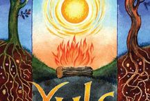 Yule Warmth / celebrating winter solstice beautifully