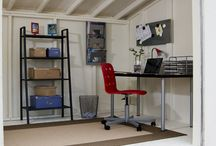 Workshop sheds / Sheds can offer so much more potential than just storing stuff. Sheds can be used as home offices, workshops and hobby rooms. Think outside the box!