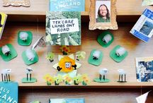 Engel's England library competition / We asked libraries across the UK to decorate a corner of their library in the theme of their corner of the country. The winning library will get a set of Engel's England, the book exploring all 39 counties by Matthew Engel, plus a visit from the author. Check out some of the wonderful and very impressive creations! More info at the Reading Agency website: http://bit.ly/1yZ8BWq