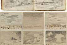 artist note books