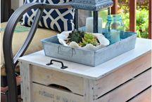 Crates furniture