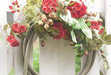 Garden Decor: Upcycled
