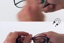 Interchangeble Eyewear / Magnetic interchangeable eyewear