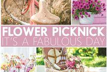 Flower Picknick / It's a fabulous day!