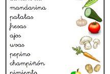 Fichas Alimentos