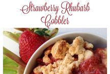 gluten free cobblers and crisps / by Sarah Bakes Gluten Free