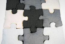 Coussins puzzles