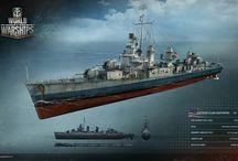 Warship Art