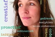 My online resume / Mijn expertise: online marketing, communicatie en social media. Pinterest CV: voor een visueel kijkje in mijn kennis, kunde en ervaring.